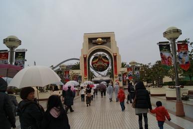 2010年USJ入り口