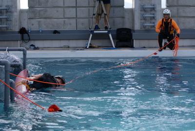 第39回全国消防救助技術大会・岡山市消防局・特別高度救助隊・技術訓練