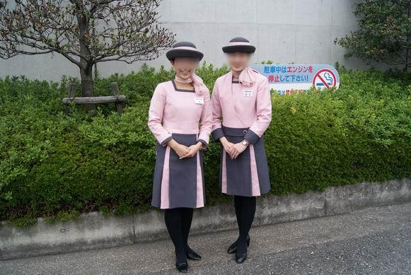 大阪ガス科学館のコンパニオンのお姉さん