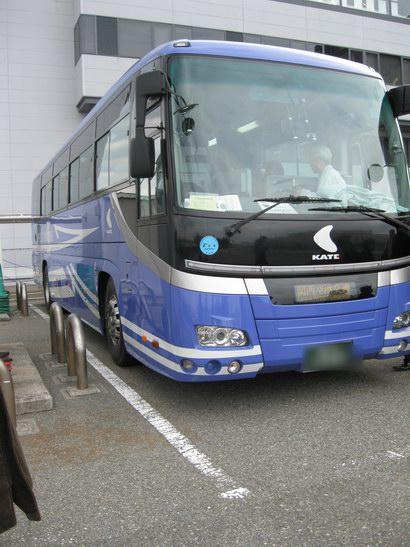 関西空港見学ツアーバス