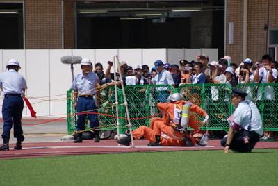 第39回全国消防救助技術大会・引揚救助2