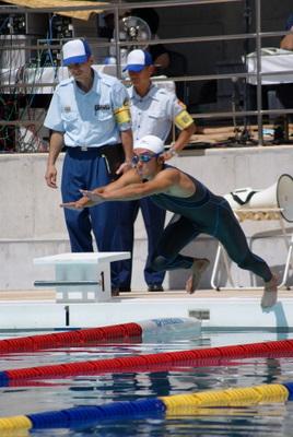 第39回全国消防救助技術大会・溺者搬送スタート