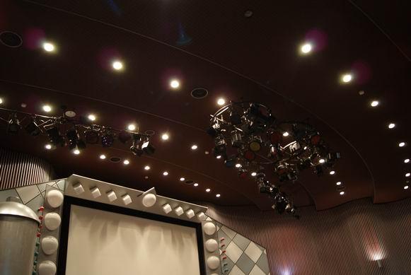 大阪ガス科学館シアターの照明