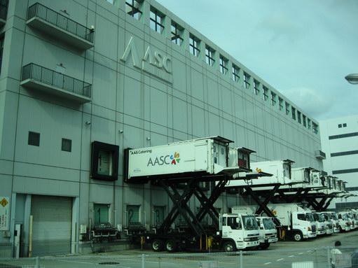 関西国際空港・機内食工場