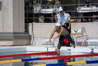 第39回全国消防救助技術大会・基本泳法・じゅんか飛び込み