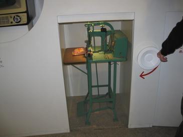 創業当時の製麺機