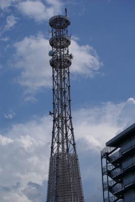 第39回全国消防救助技術大会・京都市消防学校の塔