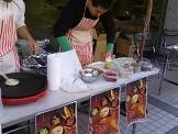 KCG学祭の葱餅
