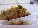 KCG学祭の葱餅っぽいもの