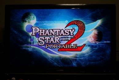 PSPo2のタイトルをREGZAのZ9000のポータブルズームで