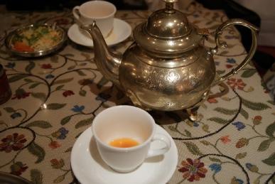 京都寺町のインド料理アジャンタのスープ