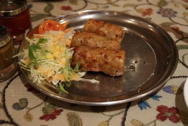 京都寺町のインド料理アジャンタのシークカバグ