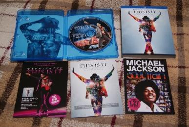 マイケル・ジャクソンTHIS IS ITのブルーレイ版の中身