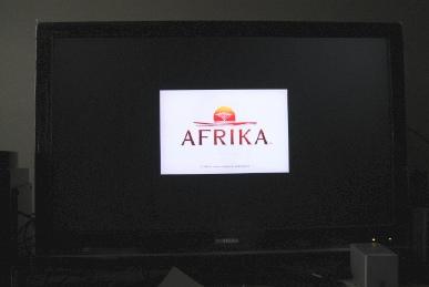 REGZAのZ9000のゲームダイレクトでAFRICA