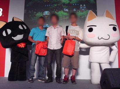台湾の新型薄型PS3初売り、トロとクロも来た!