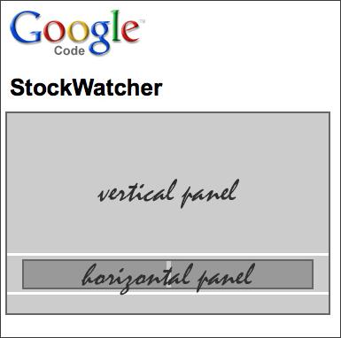 StockWatcherのデザインイメージ