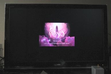REGZAのZ9000のゲームダイレクトでFolks Soul
