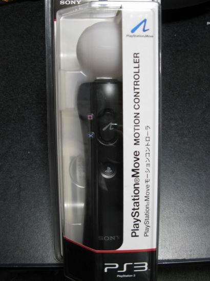 PlayStation Moveのパッケージ