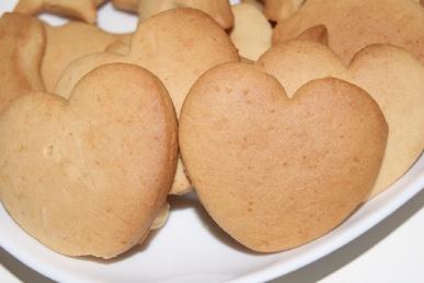 ハニークッキーのアップ