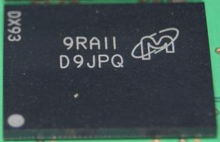 SODIMM DDR3 PC3-8500 4GB (Micron)のチップ