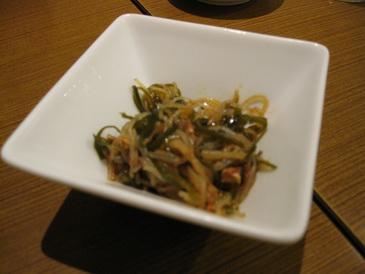 鼎泰豐の小菜(台湾風冷菜)