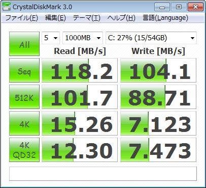 MMCRE64G5MXP-0VBのベンチマーク