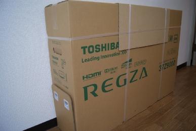東芝レグザ37Z9000の箱