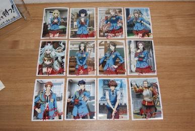 戦場のヴァルキュリア2発売直前祭りのキャラクターポートレート12枚セット