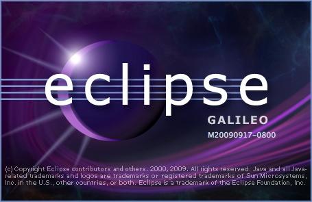 64bitのEclipseの立ち上げ画面
