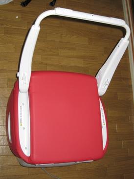 折りたたみ式マッサージチェアpure lady FML-3000(RD)
