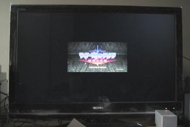 REGZAのZ9000のゲームダイレクトでTtT