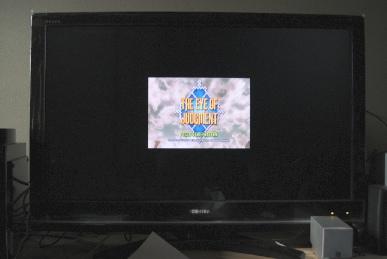 REGZAのZ9000のゲームダイレクトでEOJ