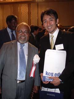 パプアニューギニア首相